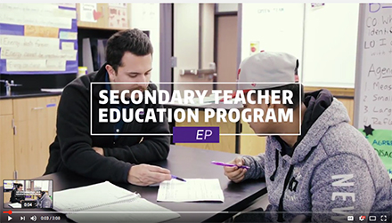 uw secondary teacher ed program