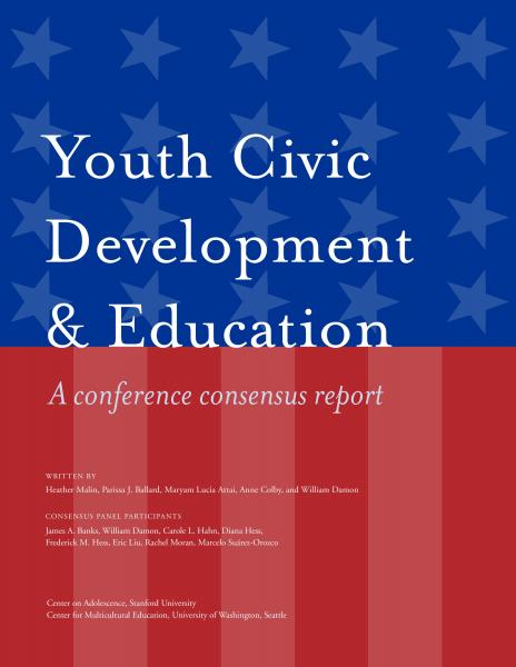Youth Civic Development and Education: A Conference Concensus Report