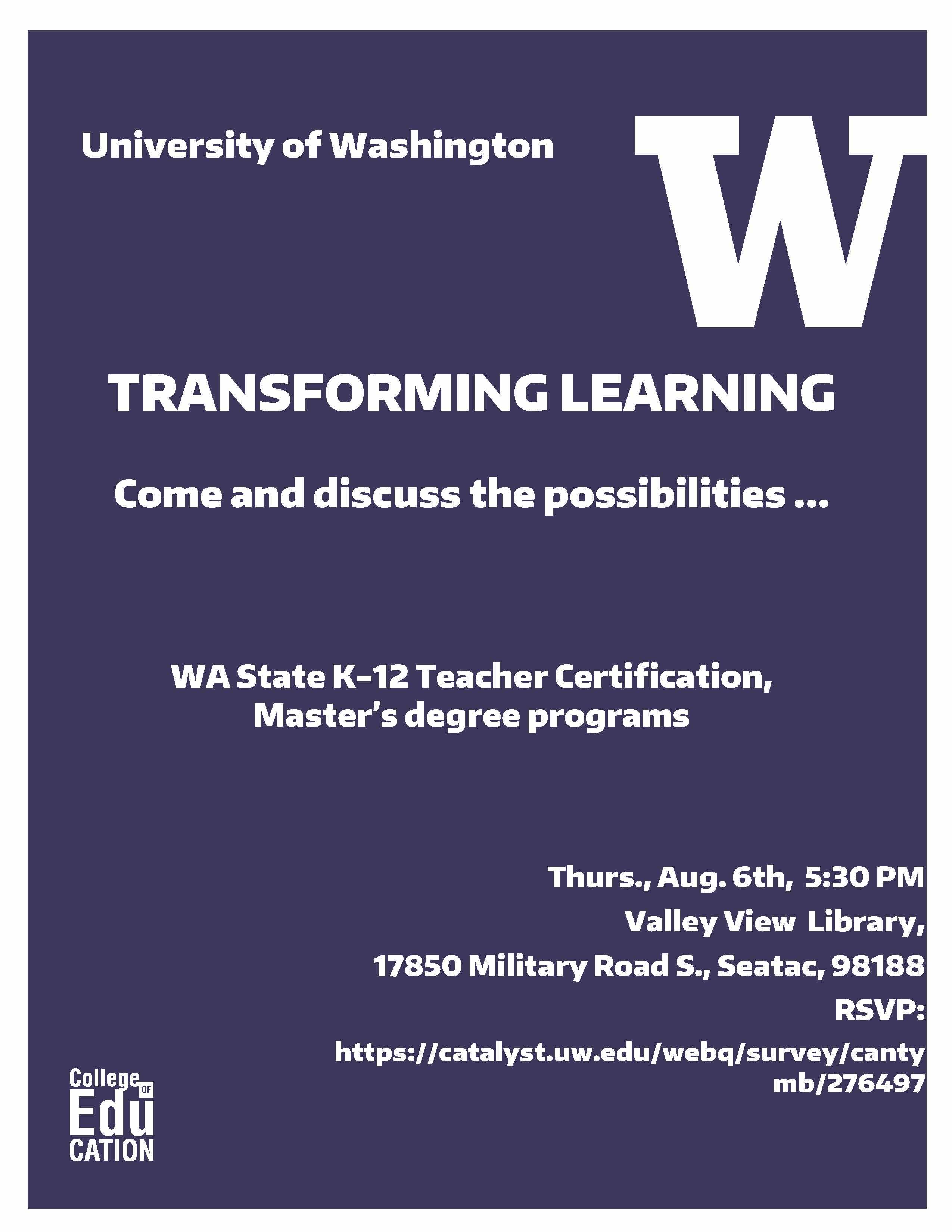 Washington State Teacher Certificate Programs - Best Design ...