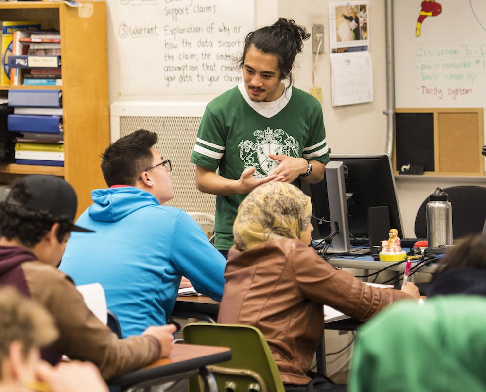 Secondary teacher preparation program