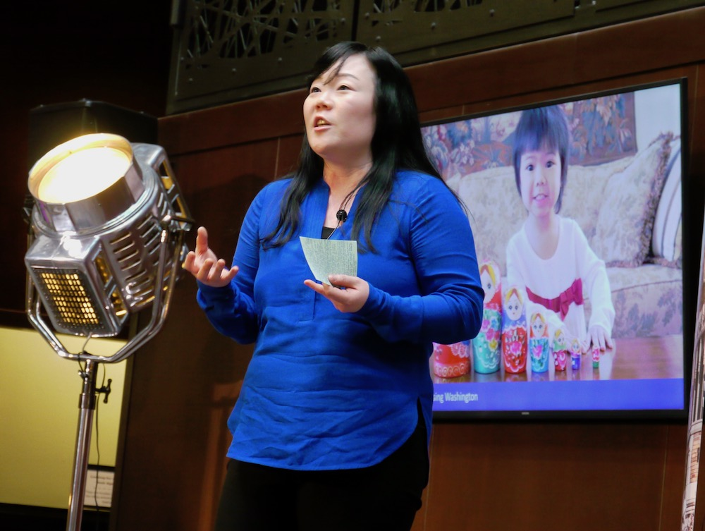 Professor Soojin Oh Park at EDU Talks: Raising Washington