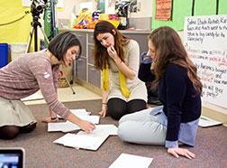 Student Writing Our Elementary Teacher Education Program