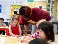 Early education classroom