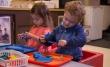 Two preschoolers in classroom