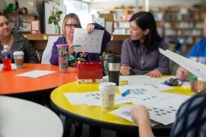 Teachers in professional development